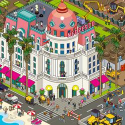 Пазл онлайн: Ницца, отель Негреско