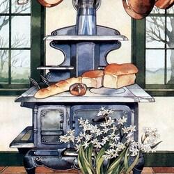 Пазл онлайн: Гламурная печь
