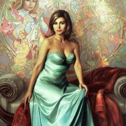 Пазл онлайн: Портрет Ирины