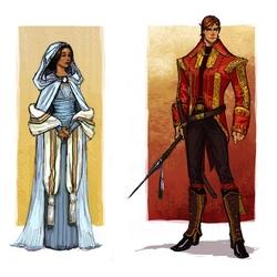 Пазл онлайн: Амерлин и Дракон