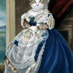 Пазл онлайн: Портрет герцогини