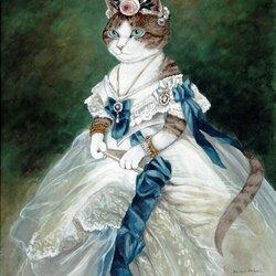 Пазл онлайн: Портрет императрицы