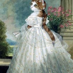 Пазл онлайн: Портрет молодой кошечки