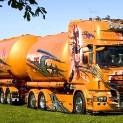 Пазл онлайн: Тюнинг Scania