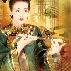 Пазл онлайн: Китайская принцесса