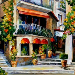 Пазл онлайн: Весеннее утро на Сицилии