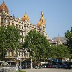 Пазл онлайн: В столице Каталонии