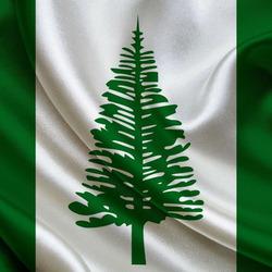 Пазл онлайн: Флаг Острова Норфолк