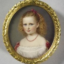 Пазл онлайн: Портрет принцессы Элизабет Гессенской