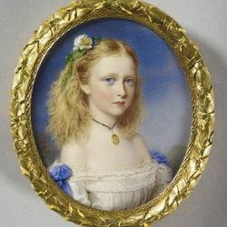 Пазл онлайн: Принцесса Виктория Гессенская