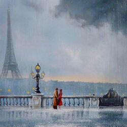 Пазл онлайн: Я подарю тебе Париж