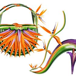 Пазл онлайн: Королева тропиков