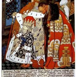 Пазл онлайн: Сказка о царе Горохе