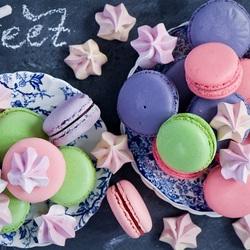 Пазл онлайн: Макаруны или миндальные пирожные