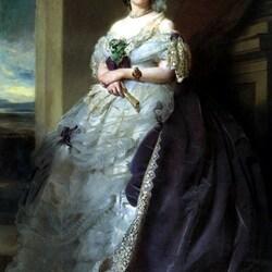 Пазл онлайн: Портрет Юлии Луизы Босвилл, леди Миддлтон