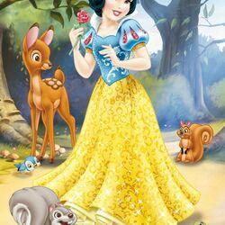 Пазл онлайн: Принцесса Белоснежка