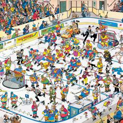Пазл онлайн: Хоккей