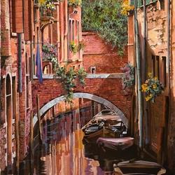 Пазл онлайн: Венецианский красный