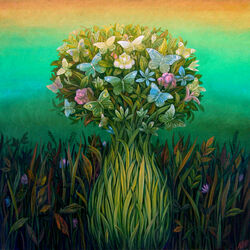 Пазл онлайн: Чудо весны