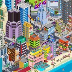 Пазл онлайн: Мегаполис