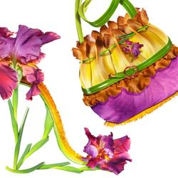Пазл онлайн: Лиловый ирис