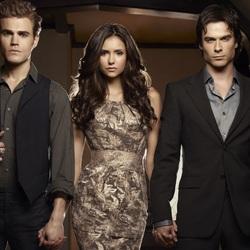 Пазл онлайн: Стефан, Елена, Дэймон