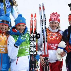 Пазл онлайн: Российские биатлонистки
