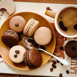 Пазл онлайн: К кофе