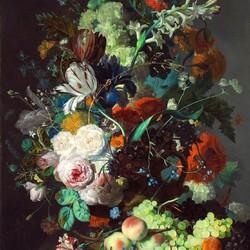 Пазл онлайн: Цветочный букет