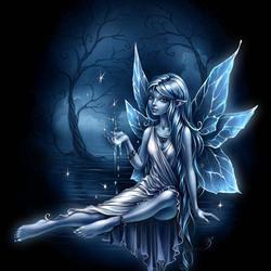 Пазл онлайн: Серебристая фея / Silver fairy