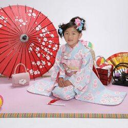 Пазл онлайн: Маленькая японка