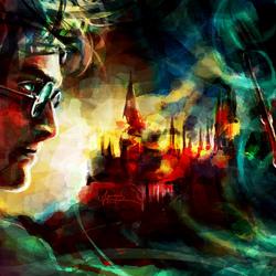 Пазл онлайн: Гарри Поттер и Дары Смерти