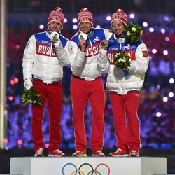 Пазл онлайн: Российские лыжники