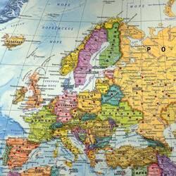 Пазл онлайн: Европа