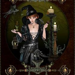 Пазл онлайн: Дочь чародея
