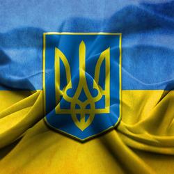 Пазл онлайн: Флаг Украины
