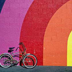 Пазл онлайн: Старый велосипед