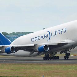 Пазл онлайн: Boeing 747 Dreamlifter
