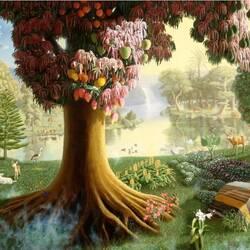Пазл онлайн: Эдемский сад