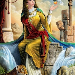 Пазл онлайн: Прекрасная ассирийка