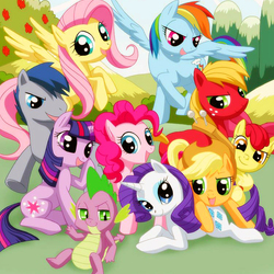 Пазл онлайн: Мой маленький пони