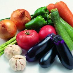 Пазл онлайн: Немного овощей