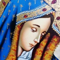Пазл онлайн: Дева Мария