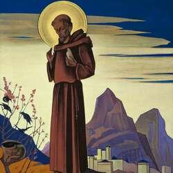 Пазл онлайн: Святой Франциск