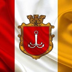 Пазл онлайн: Флаг Одессы