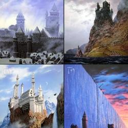 Пазл онлайн: Крепости