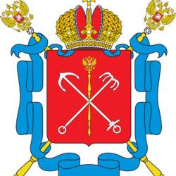 Пазл онлайн: Герб Санкт-Петербурга
