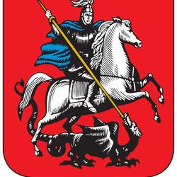 Пазл онлайн: Герб Москвы