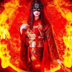 Пазл онлайн: Властительница огня