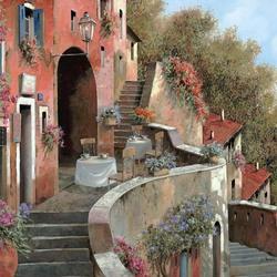 Пазл онлайн: Кафе Al Fresco на террасе